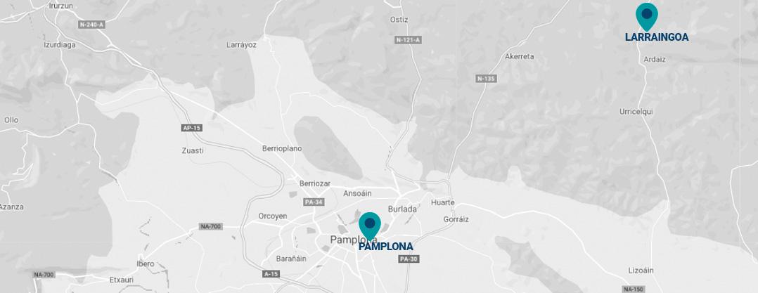 Sedes de Antox en Navarra
